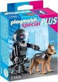 Echipa de Politie cu Caine Special Plus Playmobil