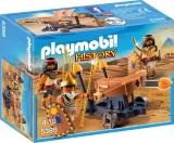 Soldati egipteni cu balista Romans and Egyptians Playmobil