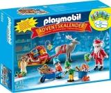 Calendar Craciun Atelierul Lui Mos Craciun Christmas Playmobil