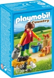Femeie cu Familie de Pisici Country Farm Playmobil