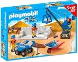 Santierul de constructie Super Set Playmobil