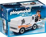 Masina de curatat gheata Ice Hockey Playmobil