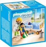 Doctor si copil Kid Clinic Playmobil