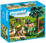 Teren Impadurit si AnimaleForester House Playmobil