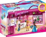 Set mobil Butic cu haine Take Along Fashion Boutique Playmobil