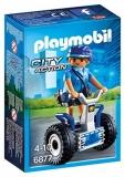 Politista cu masina de echilibru Police Playmobil