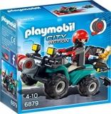 Vehiculul hotului Police Playmobil