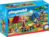 Loc de Tabara cu Led de Foc Large Holiday Camp Playmobil