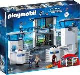 Sediu de Politie cu Inchisoare Police Playmobil