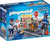 Blocaj rutier al PolitieiPolice Playmobil