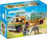 Camion Forestier si Elefant Safari Playmobil