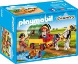 Trasura Cu Ponei si Picnic Pony Farm Playmobil