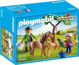 Veterinar cu Ponei si Manz Pony Farm Plymobil