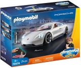 Rex Dasher cu Porsche Mission E. Playmobil