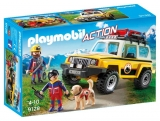 Salvatori montani cu camion Action Playmobil