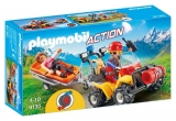 Salvatori montani cu targa Action Playmobil