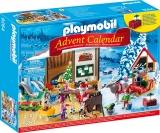 Calendar Craciun - Atelierul lui Mos Craciun Playmobil