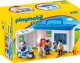 Set mobil statie de politie 1.2.3 Playmobil