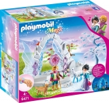 Poarta de cristal si taramul inghetat Playmobil
