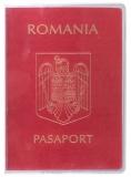 Coperta pasaport, plastic, 128 x 181 mm