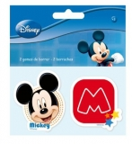 Set 2 radiere Mickey Mouse