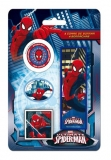 Set 4 radiere Spiderman