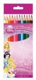 Creioane colorate 12 culori Princess