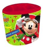 Suport de birou metalic 6 compartimente Mickey Mouse