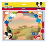Set tabla + marker cu burete Mickey Mouse