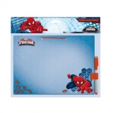 Set tabla + marker cu buretel Spiderman