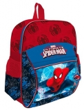 Ghiozdan cu fermoar si buzunar exterior clasa 0 Spiderman
