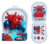 Set scolar 15 piese Spiderman