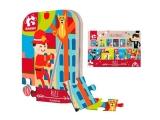 Puzzle 24 piese in cutie metalica Pompieri