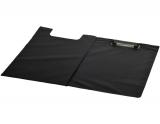 Clipboard plastic dublu A4 tip L negru