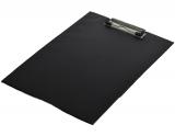 Clipboard simplu, A4, din carton, negru