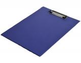 Clipboard simplu, A4, din carton, albastru