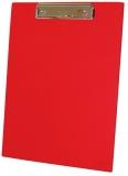 Clipboard simplu, A4, din carton, rosu
