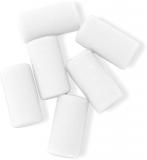Radiera pentru Rondo/Scripta XI 6 buc/set culoare alb Ballograf