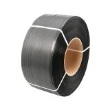 Banda polipropilena 16 mm x 0.7 m gri/negru