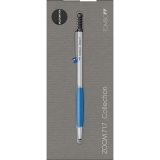 Pix Zoom 717 Chrome/Blue BT Tombow