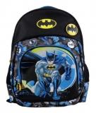 Ghiozdan clasa 0 albastru si negru Batman Pigna