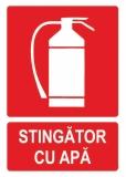 Sticker laminat Stingator apa