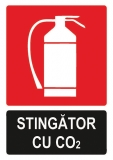 Sticker laminat Stingator CO2