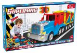 Supermag 3D - Jucarie Cu Magnet Camion Supermag