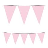 Stegulete pentru petreceri roz 5 m x 25 cm Big Party
