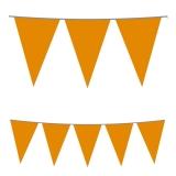 Stegulete pentru petreceri portocaliu 5 m x 25 cm Big Party