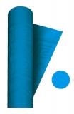 Fata de masa din hartie damascata albastru 120 x 700 cm Big Party