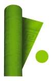 Fata de masa din hartie damascata verde 120 x 700 cm Big Party