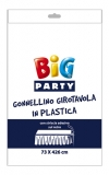 Fustanela de masa, plastic, alb 73 x 426 cm Big Party
