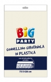 Fustanela de masa, plastic, ivory 73 x 426 cm Big Party